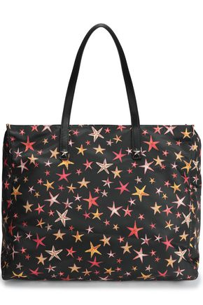 RED(V) Printed twill tote