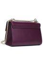 DOLCE & GABBANA Studded leather shoulder bag