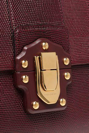 DOLCE & GABBANA Lizard-effect leather tote