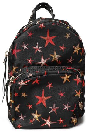 RED(V) Printed shell backpack