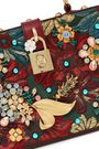 DOLCE & GABBANA Fantasia 装飾付き ブロケード ショルダーバッグ