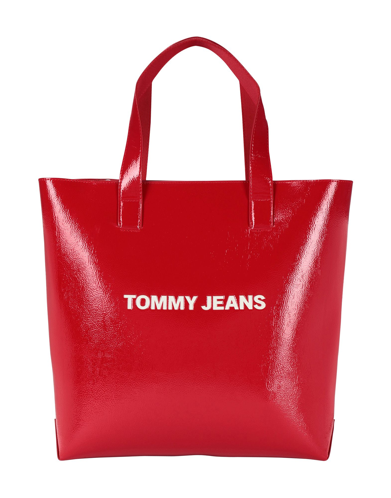 《送料無料》TOMMY JEANS レディース ハンドバッグ レッド ポリウレタン 100% TJW MODERN GIRL TOTE