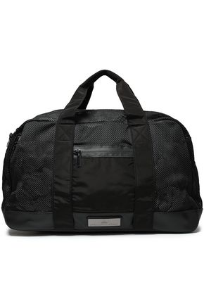 ADIDAS by STELLA McCARTNEY Paneled mesh and shell weekend bag