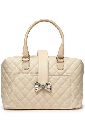 RED(V) Embellished quilted leather tote