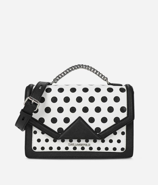 Karl Lagerfeld - K/Klassik sac bandoulière à pois - 1