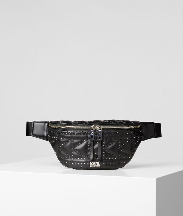 Karl Lagerfeld - K/Kuilted  Bumbag mit Nieten-Details - 1