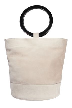 SIMON MILLER Nubuck bucket bag