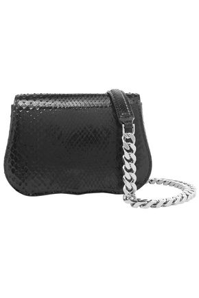CALVIN KLEIN 205W39NYC Python shoulder bag