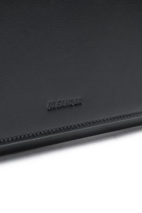 JIL SANDER Oversized leather clutch