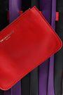 SARA BATTAGLIA Color-block leather bucket bag
