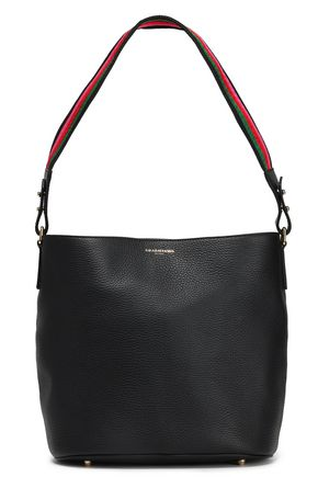 SARA BATTAGLIA Textured leather shoulder bag