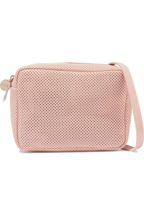 CLARE V. Midi Sac perforated leather shoulder bag