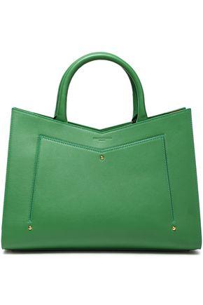 SARA BATTAGLIA Color-block leather tote