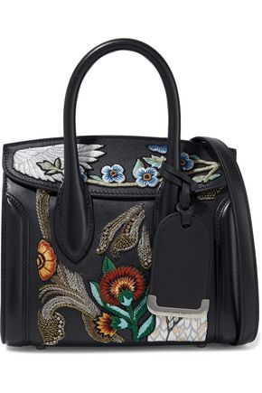 ALEXANDER MCQUEEN Heroine embellished leather shoulder bag