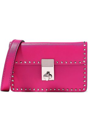 VALENTINO GARAVANI Studded leather belt bag