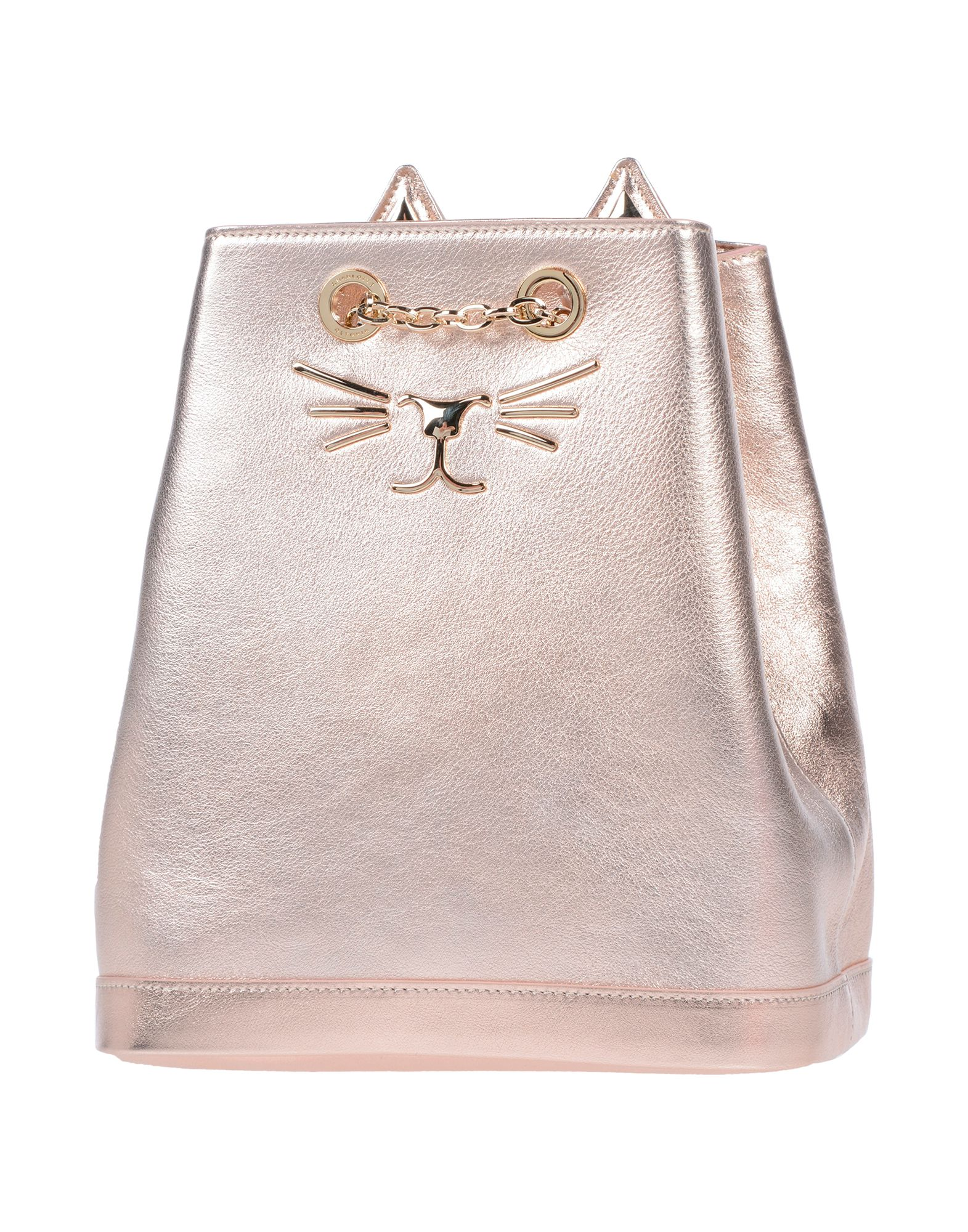 CHARLOTTE OLYMPIA Рюкзаки и сумки на пояс charlotte olympia эспадрильи из кожи и льна mischievous flats