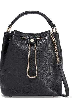 DIANE VON FURSTENBERG Love Power textured-leather bucket bag