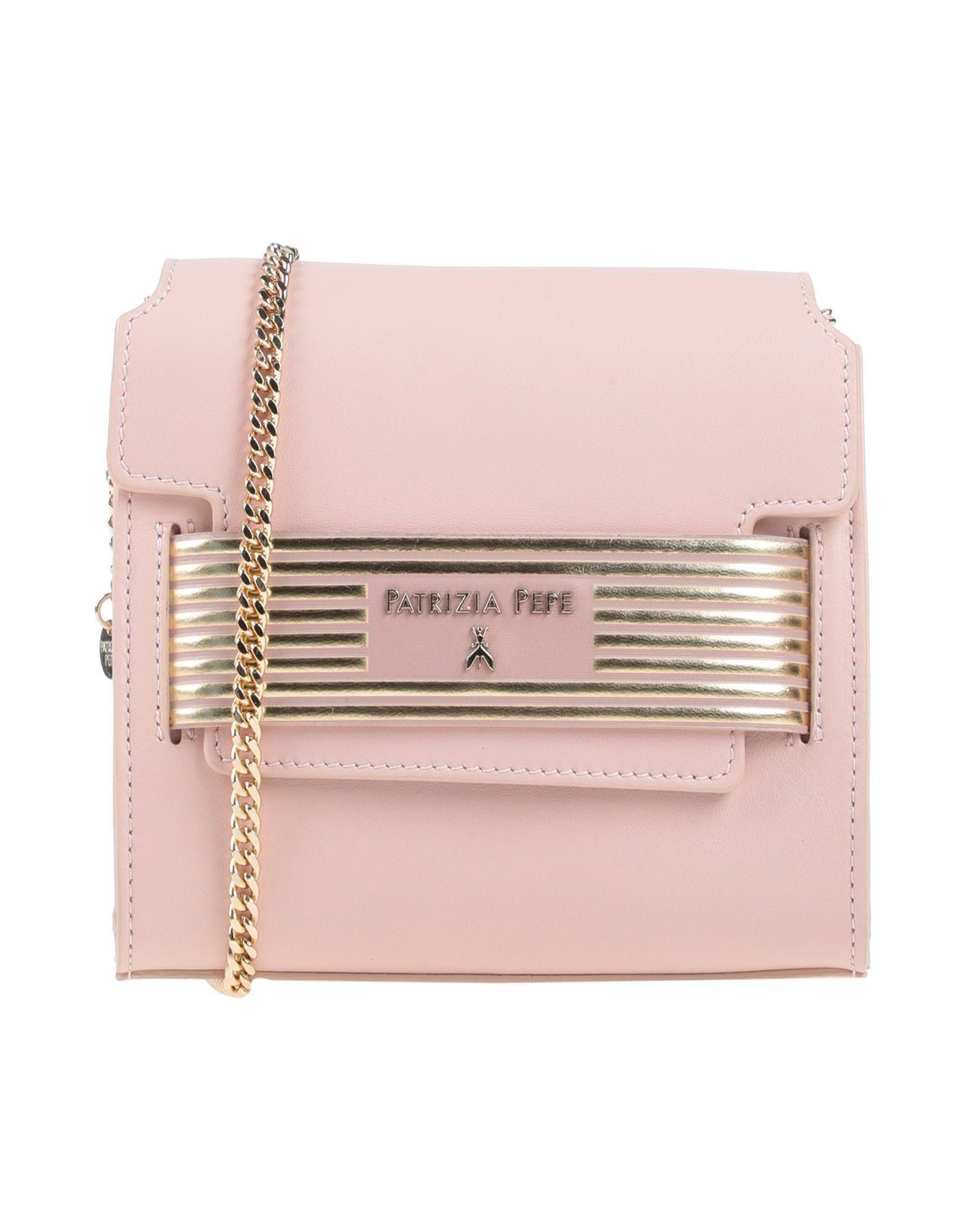 《送料無料》PATRIZIA PEPE レディース ハンドバッグ ピンク 革