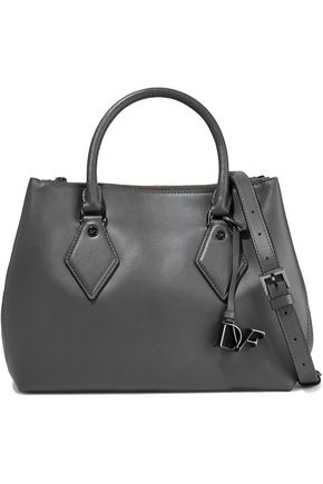 DIANE VON FURSTENBERG Voyage leather shoulder bag