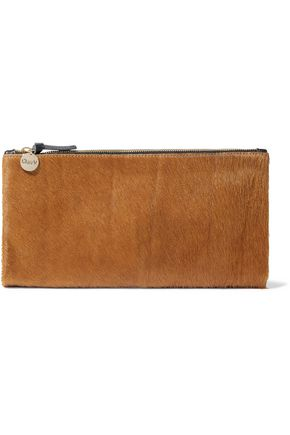 fe9e1d520 Calf hair clutch | CLARE V. | Sale up to 70% off | THE OUTNET