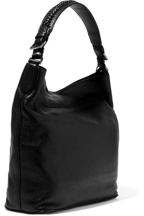 DIANE VON FURSTENBERG Iggy pebbled-leather tote
