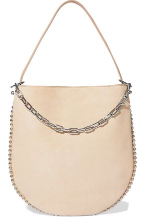 ALEXANDER WANG Roxy studded suede shoulder bag