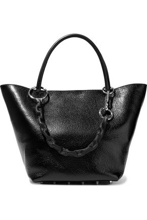 ALEXANDER WANG Coated textured-leather tote