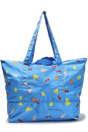 GANNI Fairmont printed shell tote