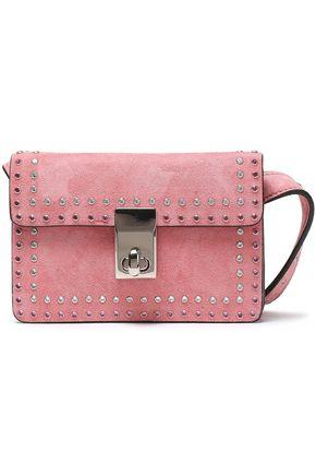 VALENTINO GARAVANI Studded suede belt bag