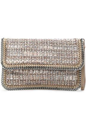 STELLA McCARTNEY Embellished woven clutch