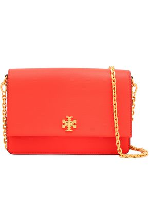 73ed34bb3cd4d TORY BURCH Textured-leather shoulder bag