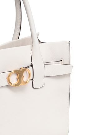 TORY BURCH Textured-leather tote