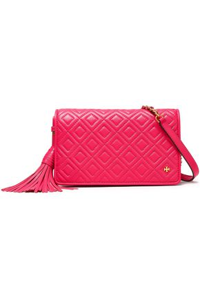 TORY BURCH Quilted leather shoulder bag