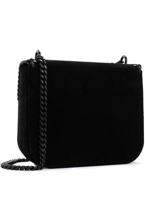 STELLA McCARTNEY Velvet shoulder bag