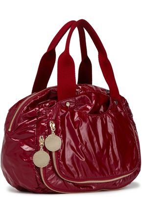 STELLA McCARTNEY Zip-embellished shell tote