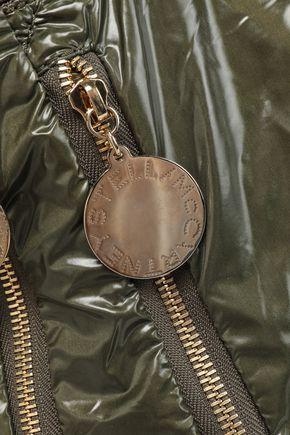 STELLA McCARTNEY Nirvana zip-detailed coated-shell tote