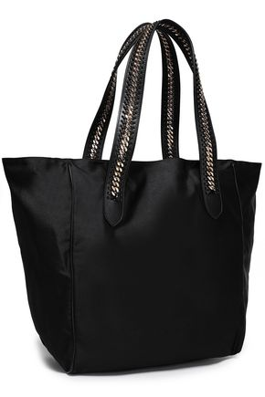 STELLA McCARTNEY Chain-trimmed shell tote
