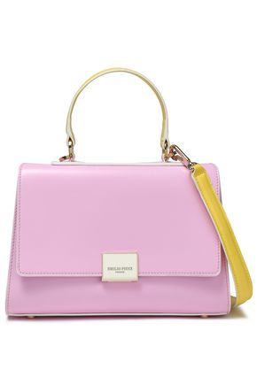EMILIO PUCCI Two-tone leather shoulder bag