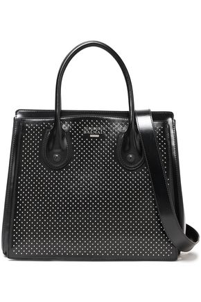 BALMAIN Studded leather shoulder bag