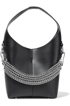 ALEXANDER WANG Genesis chain-detailed leather shoulder bag