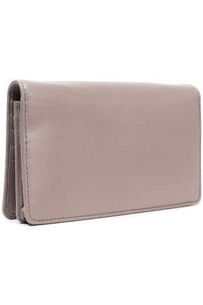 MARC JACOBS Leather continental wallet