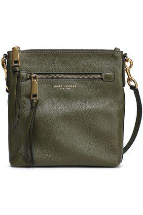 MARC JACOBS Textured-leather shoulder bag