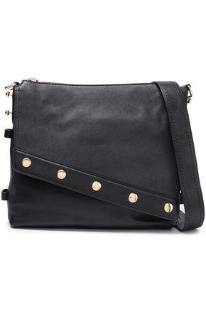 MARC JACOBS Studded textured-leather shoulder bag