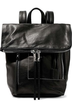 RICK OWENS LILIES Duffle textured-leather backpack