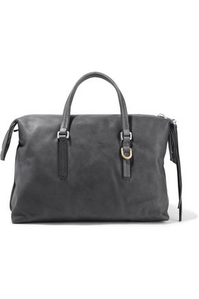 RICK OWENS City brushed-leather tote