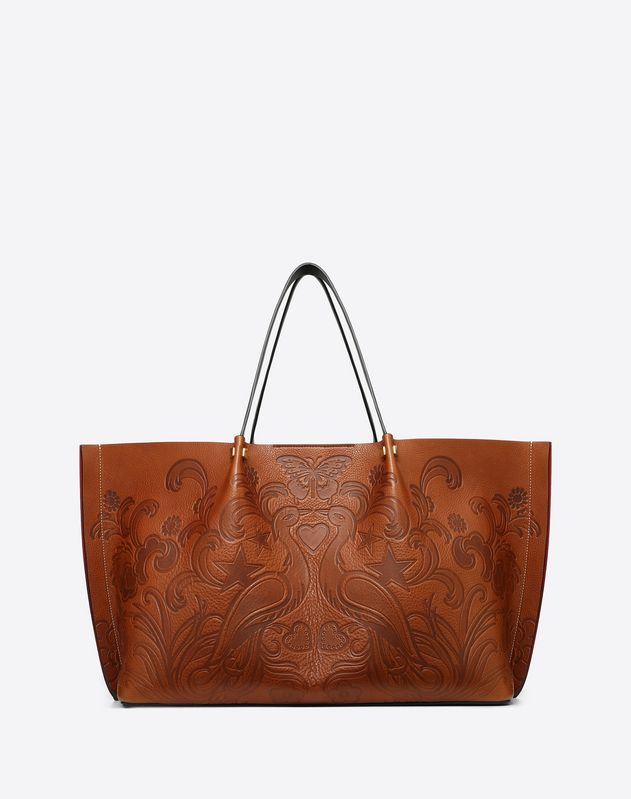 Large Go Logo Escape Shopper With Phoenix Print