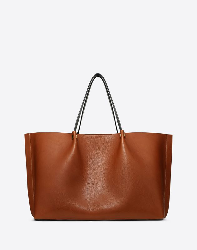 Large VLOGO Escape Cowhide Shopper