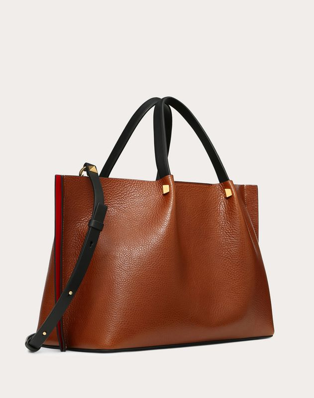 Medium Go Logo Escape Cowhide Shopper