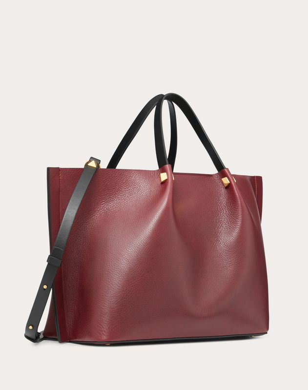 Medium VLOGO Escape Cowhide Shopper