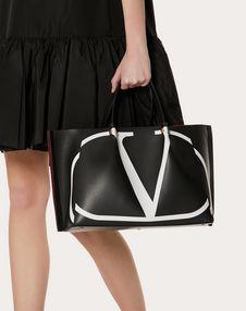 Medium VLOGO Escape Shopper With Inlay Detail